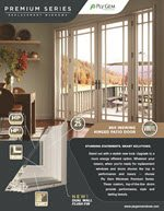 Ply Gem 960 Inswing Hinged Patio Door