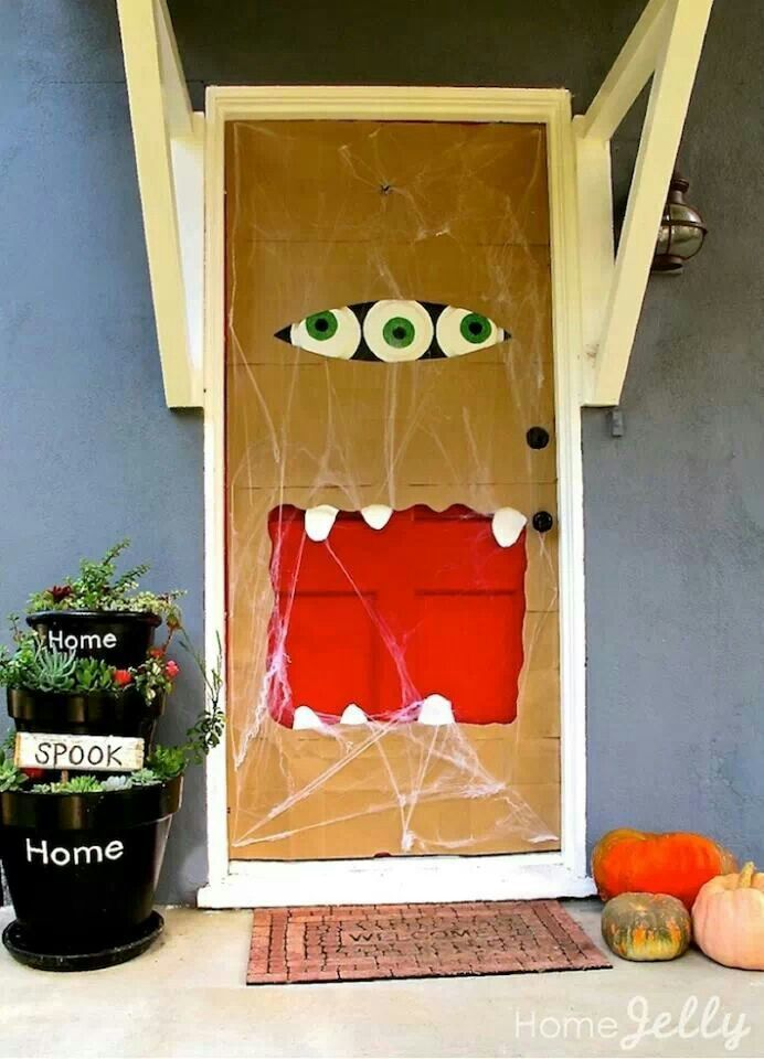 7 Spooky Halloween Front Doors Gravina S Windows Amp Siding