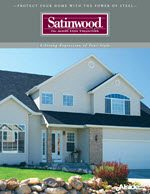 Alside Satinwood Steel Siding