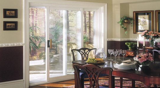 Sliding Patio Door Dinning Room