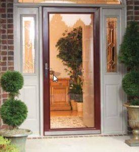 Three Quarter Lite Storm Doors